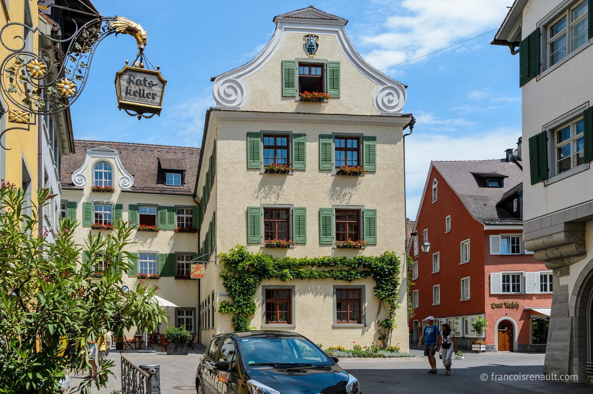 Meersburg, Bade-Wurtemberg, Allemagne.