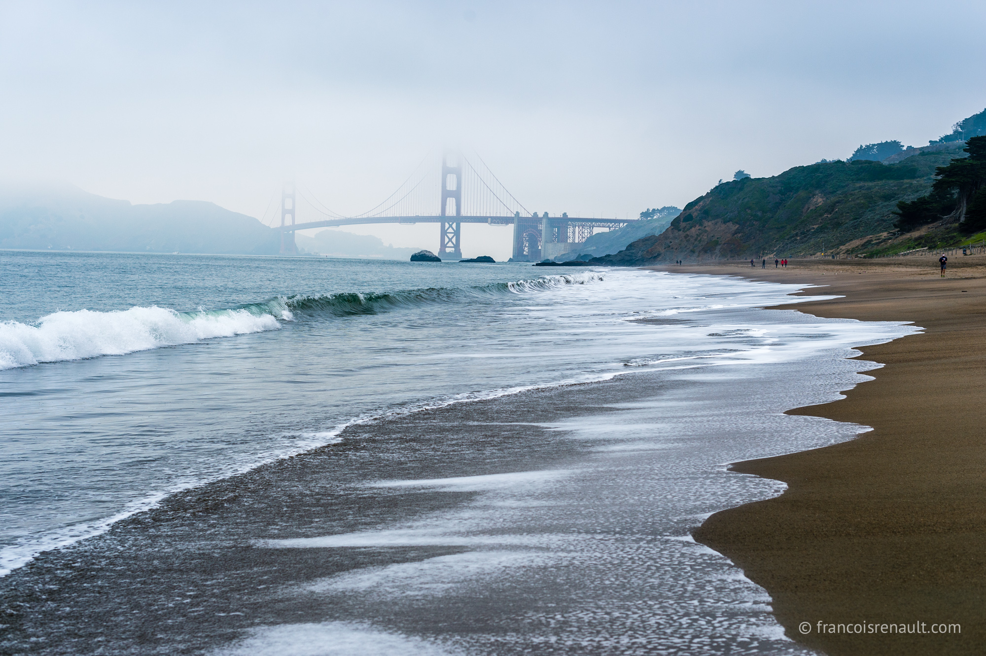 Baker Beach, San Francisco, USA.