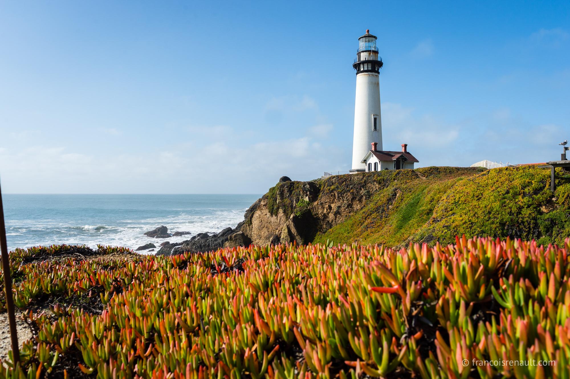 Pigeon Point Lighthouse, Californie, USA.