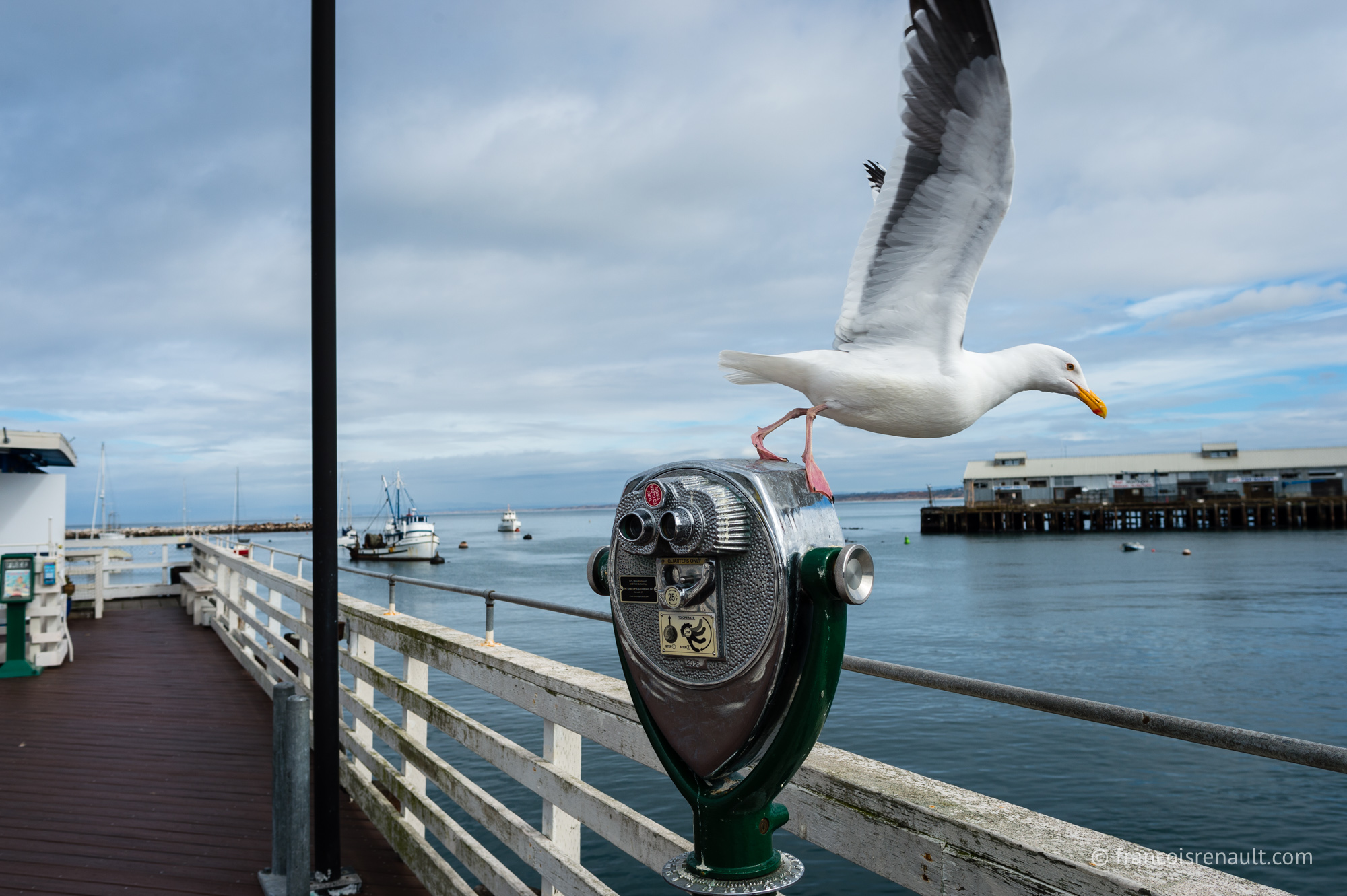 Fisherman's Wharf, Monterey, Californie, USA.