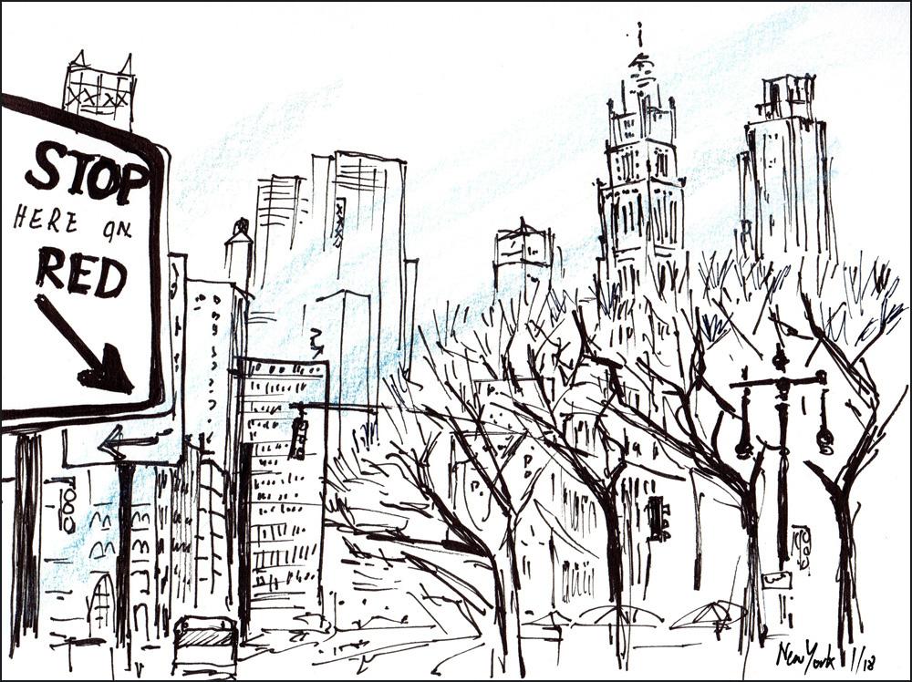 Sketching New York